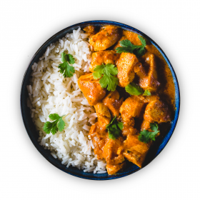 Chicken Tikka with Rice