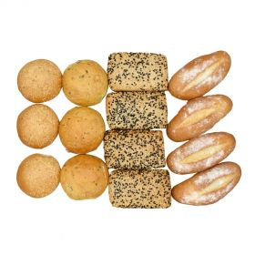 Assorted Bread (Lunch / Dinner) Box 2 (13 Pieces)