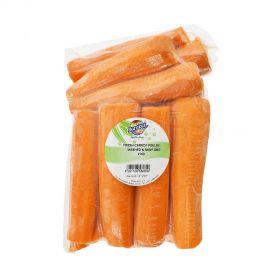Carrot peeled washed & sanitized 2Kg