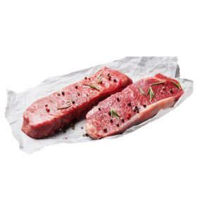 Grassfed Beef Striploin Steak (2x180g)