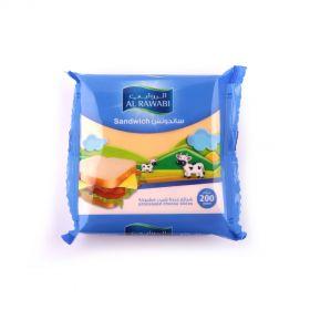 Al Rawabi Sandwich Slice Cheese 200g