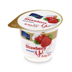 Al Rawabi Yoghurt Strawberry 130g