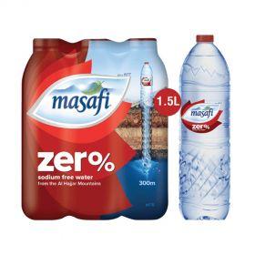 Masafi Zero Sodium Water 1.5L x 6