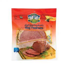 Al Rawdah Beef Pastrami Sliced 200g