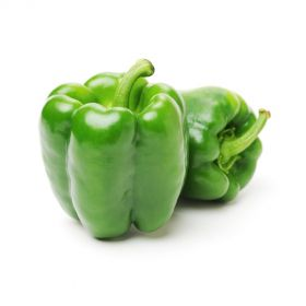 Capsicum Green washed and Sanitized 500g
