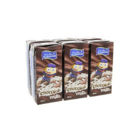 Al Rawabi Chocolate Milk Long Life 200mlx6