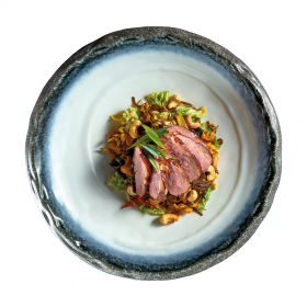 Kung Pao Duck with Yakisoba Noodles