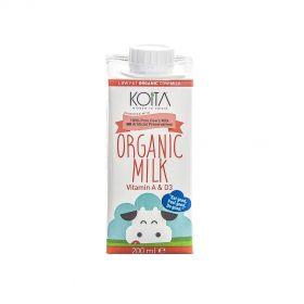 Koita Organic Milk Low Fat 200 ml