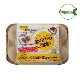 Al Jazira Organic Eggs- 6 Pc