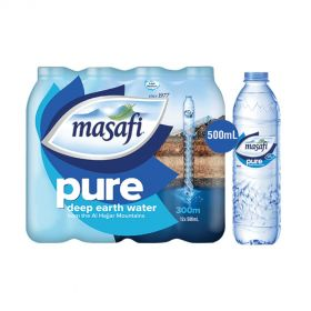 Masafi Pure Low Sodium Natural Water 500ml x Pack of 6