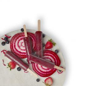 Beetroot Berry Juice Pops