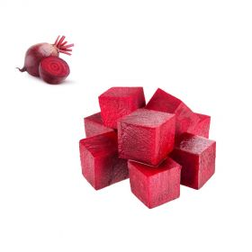 Beetroot cubes 15mm 350g