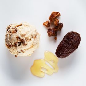 Dates Honey Ice Cream