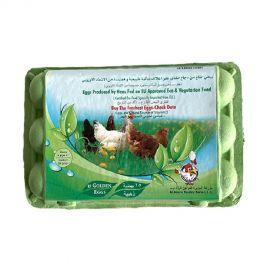 Al Jazira Eco & Vegetarian Fed Eggs - 15 Pc