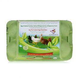 Al Jazira Eco & Vegetarian Fed Eggs- 6 Pc