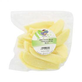 Potato Wedges Washed & Sanitized 500g