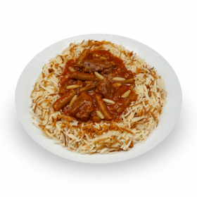 Beef & Green Bean Stew with Vermicelli Rice