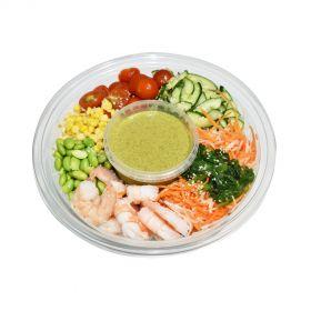 Japanese Shrimps & Mango Mint Dressing