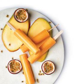 Mango Passion Fruit Juice Pops