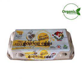 Al Jazira Organic Eggs - 10 Pc