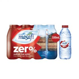 Masafi Zero Sodium Water 330ml x 12