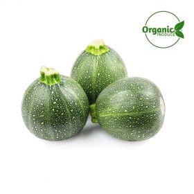Zucchini Green Round Organic
